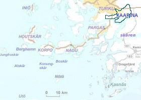Saaristo map