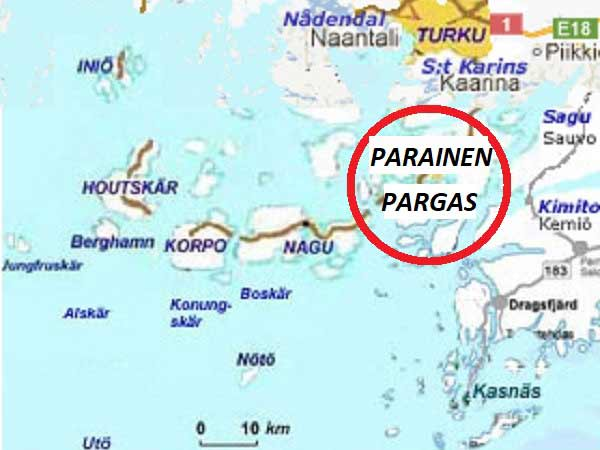 Map Parainen