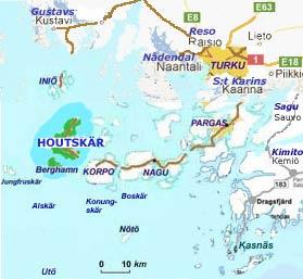 Houtskär - Skärgårdens karta