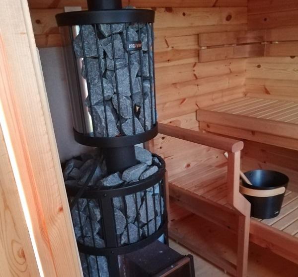 Markomby mökki sauna
