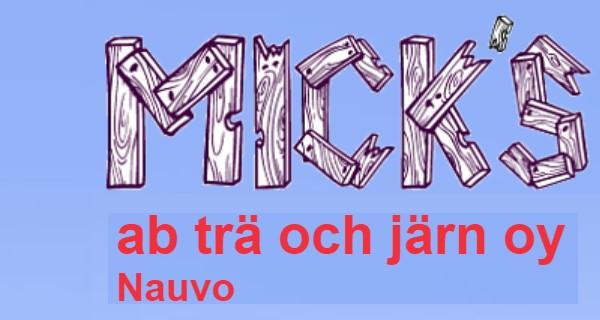 Micks Ab Trä och Järn Oy - Nagu