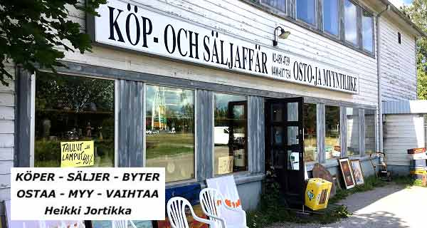 OSTAA - MYY - VAIHTAA Parainen - Heikki Jortikka