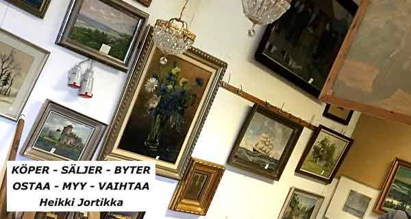 OSTAA - MYY - VAIHTAA Pargas - Heikki Jortikka