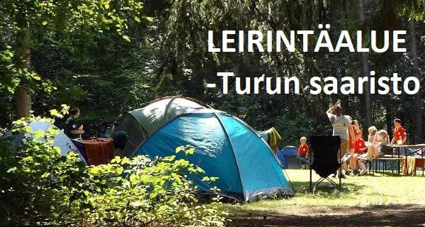Leirintä & Asuntovaunualueita - Turun saaristo