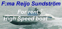 Hig spead boat - rental