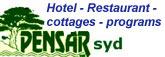 Pensar syd - hotelli - mökit - ravintola - ohjelmapalvelut